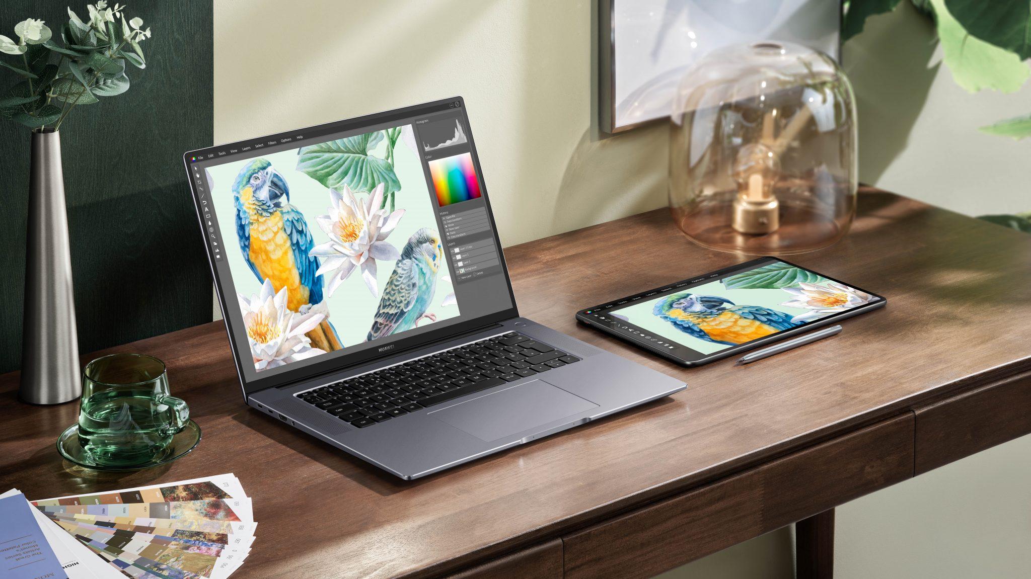 HUAWEI stellt neue Displays, Notebooks und Zubehör vor